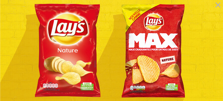 Lay's chips Nature